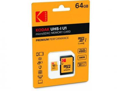 64GB pamäťová karta Kodak ako darček pre fotografa