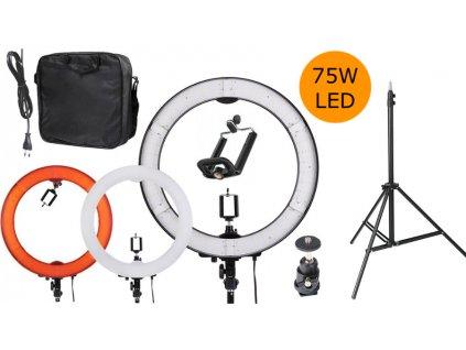 LED kruhové svetlá 75W